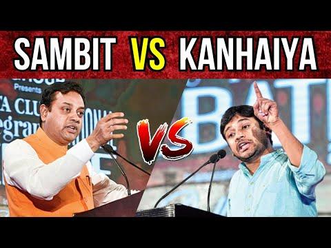 Kanhaiya Kumar Vs Sambit Patra | Debate on Surgical Strike 2017 🔥🔥🔥