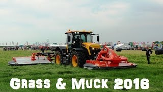 FTMTA GRASS & MUCK 2016  Field action from John Deere, Kuhn, McHale, JCB, Krone, Deutz, Lely, Next videos will be from the Silage pit. Thank you for watching please like and subscribe.Also Follow on twitter @agri_jm and Facebook Jm Agri Videos