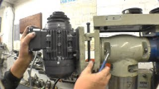 Installing the motor