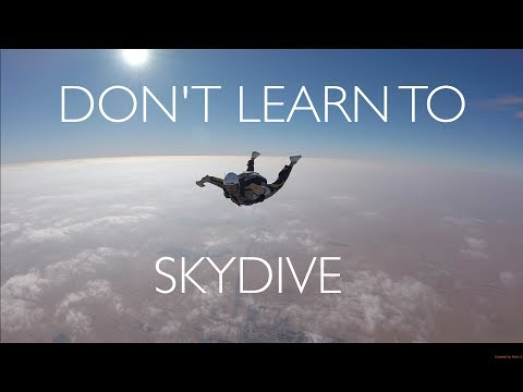Learning to skydive - Full AFF Course Jumps