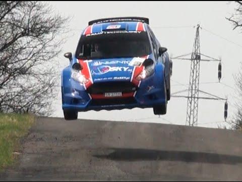 Łukasz Habaj Piotr Woś Valašská rally 2015 big jump