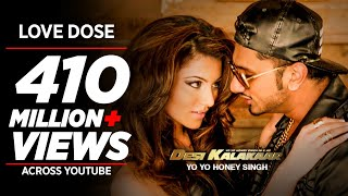 Video Exclusive: LOVE DOSE Full Video Song | Yo Yo Honey Singh, Urvashi Rautela | Desi Kalakaar MP3, 3GP, MP4, WEBM, AVI, FLV April 2019