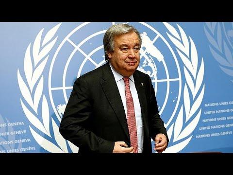 Ο Πορτογάλος Αντόνιο Γκουτέρες στο τιμόνι του ΟΗΕ