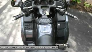 4. 2005 HONDA GOLDWING GL 1800 ABS St. Louis, MO 7-161