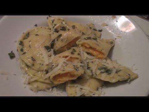 video ricetta: tortelli alla zucca.