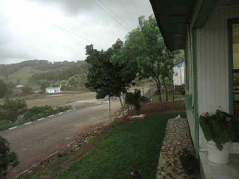 Tempestade em Irati - Santa Catarina