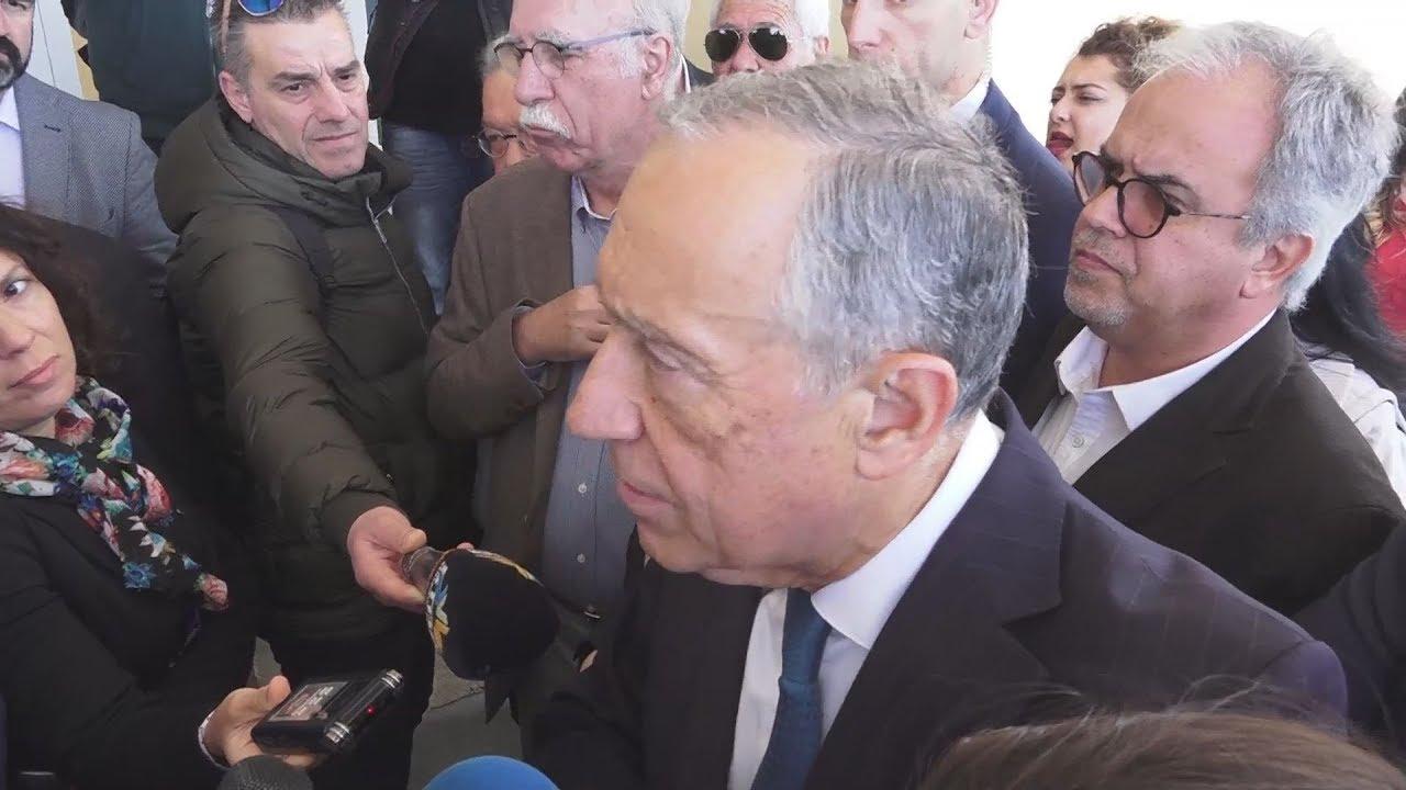 Ρεμπέλο ντε Σόουζα: Είναι πολύ γενναία η ελληνική πολιτική για τους πρόσφυγες