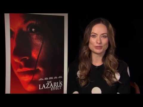 "The Lazarus Effect: Olivia Wilde ""Zoe"" Official Movie Interview"