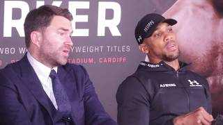 ANTHONY JOSHUA v  PARKER (POST FIGHT)  CONFERENCE