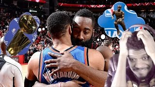 THAT'S WHY YOU DESERVE MVP! THUNDER vs ROCKETS HIGHLIGHTS REACTION!