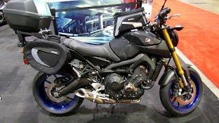 8. 2014 Yamaha FZ-09 Accessorized Walkaround - 2014 Toronto Motorcyle Show