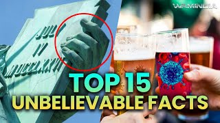 Video Top 15 Unbelievable and Amazing (Interesting) Facts To Blow Your Mind By Infocaps MP3, 3GP, MP4, WEBM, AVI, FLV Mei 2018