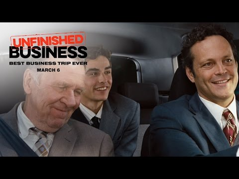 Unfinished Business (TV Spot 'Work Hard, Play Harder')