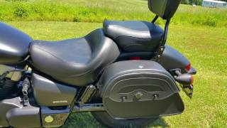 10. 2012 Honda 750 Shadow Phantom Motorcycle Saddlebags Review - vikingbags.com