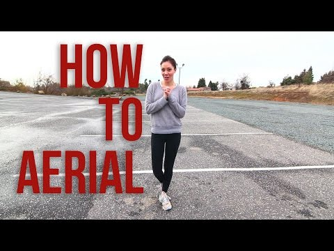 Aerial - How to do an Aerial | Cartwheel with No Hands | Monica Miyagi Details: This tutorial is taught be Monica Miyagi who is a professional Gymnastics coach at Miy...