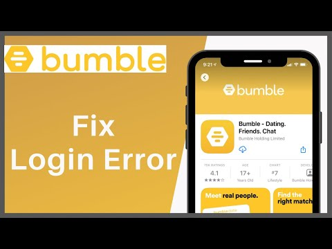 Bumble wont let me sign in with facebook