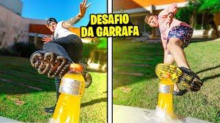 DESAFIO DA TAMPA DA GARRAFA COM MEUS AMIGOS !! *kkkkkkk*