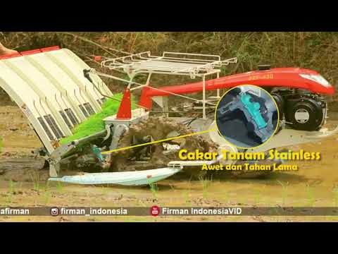 RICE TRANSPLANTER MESIN TANAM PADI FIRMAN