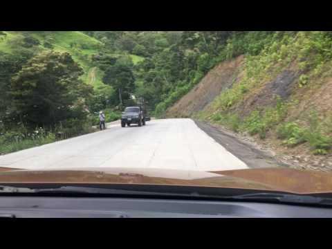 Honduras 2016 297 driving down mountain