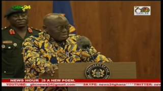 President Akufo Addo has once again justified his appointment of 110 ministers adding that the vital thing is having the capacity to deliver on the promises made to better the lot of Ghanaians. The president said this in a response to a question about the effect of the size of the government on the national purse.