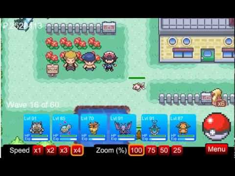 Pokemon Tower Defense- Tutorial - Pallet Town PTD 6.2