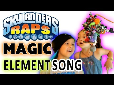 Skylanders Rap - the MAGIC ELEMENT Song (100th Video)