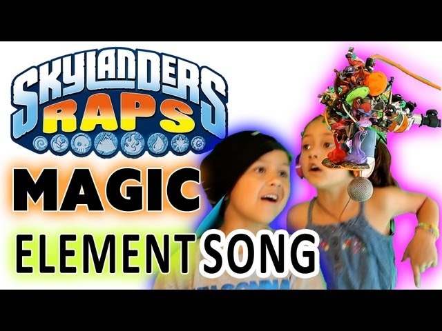 Skylanders rap the magic element song 100th video for 100th window full album