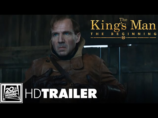 THE KING'S MAN - THE BEGINNING - 3.Offizieller Trailer (deutsch/german) | 20th Century Studios