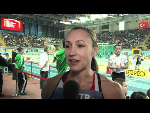Jessica Ennis GBR at Istanbul World Indoors 2012