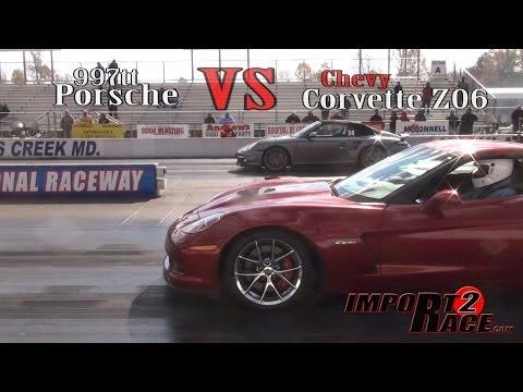 Porsche 997tt vs. Chevy Corvette Z06