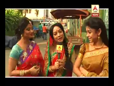 Bodhuboron Serial's actors are still in their festive mood: Watch