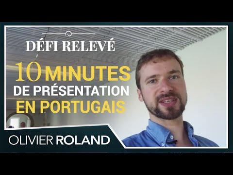 CHALLENGE : 10 minutes de présentation publique en Portugais !