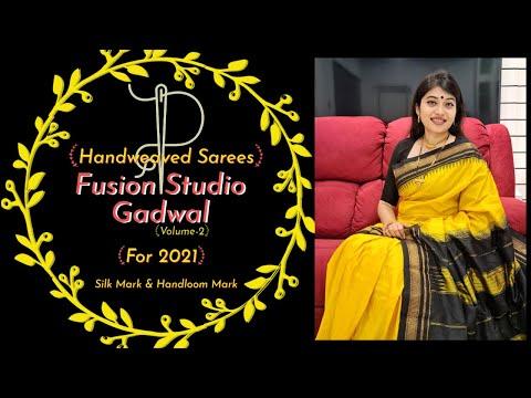 Debanjali's Hindi Series   Fusion Studio Ilkal Gadwal Sarees   Pure Silk Sarees  Web Series Ep 117 