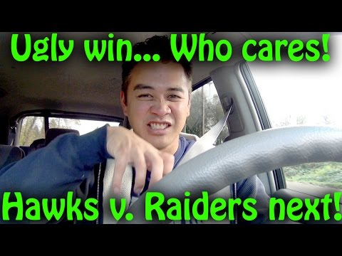 Seahawks Beat Panthers… Ugly win? Who cares?! Raiders next! (Norblog#52)