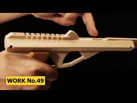 Auto Return Releaser, 8 rounds Rubber Band Hand GUN/ oggcraft.jp