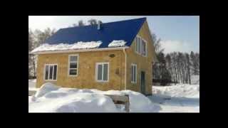 Металло-каркасный дом из OSB плит