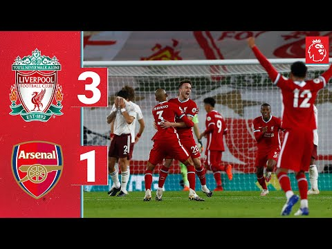 Highlights: Liverpool 3-1 Arsenal | Jota's first goal seals the win