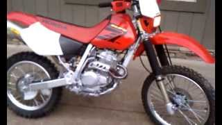 4. 2004 XR250R Walk Around
