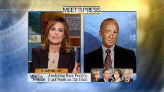 Governor Mitch Daniels on Meet the Press  - August 21, 2011