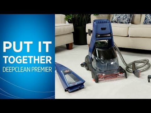 how to clean bissell proheat 2x premier pet