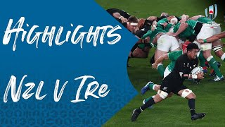 Highlights: New Zealand 46-14 Ireland - Rugby World Cup 2019 quarter-final