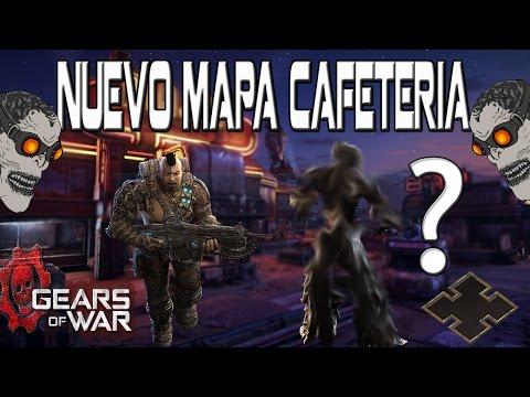 PARTIDITA EN RESTAURANTE ME ENCUENTRO CON EL BOT MAS OP DE TODOS  GEARS OF WAR 4 NUEVOS MAPAS DLC3