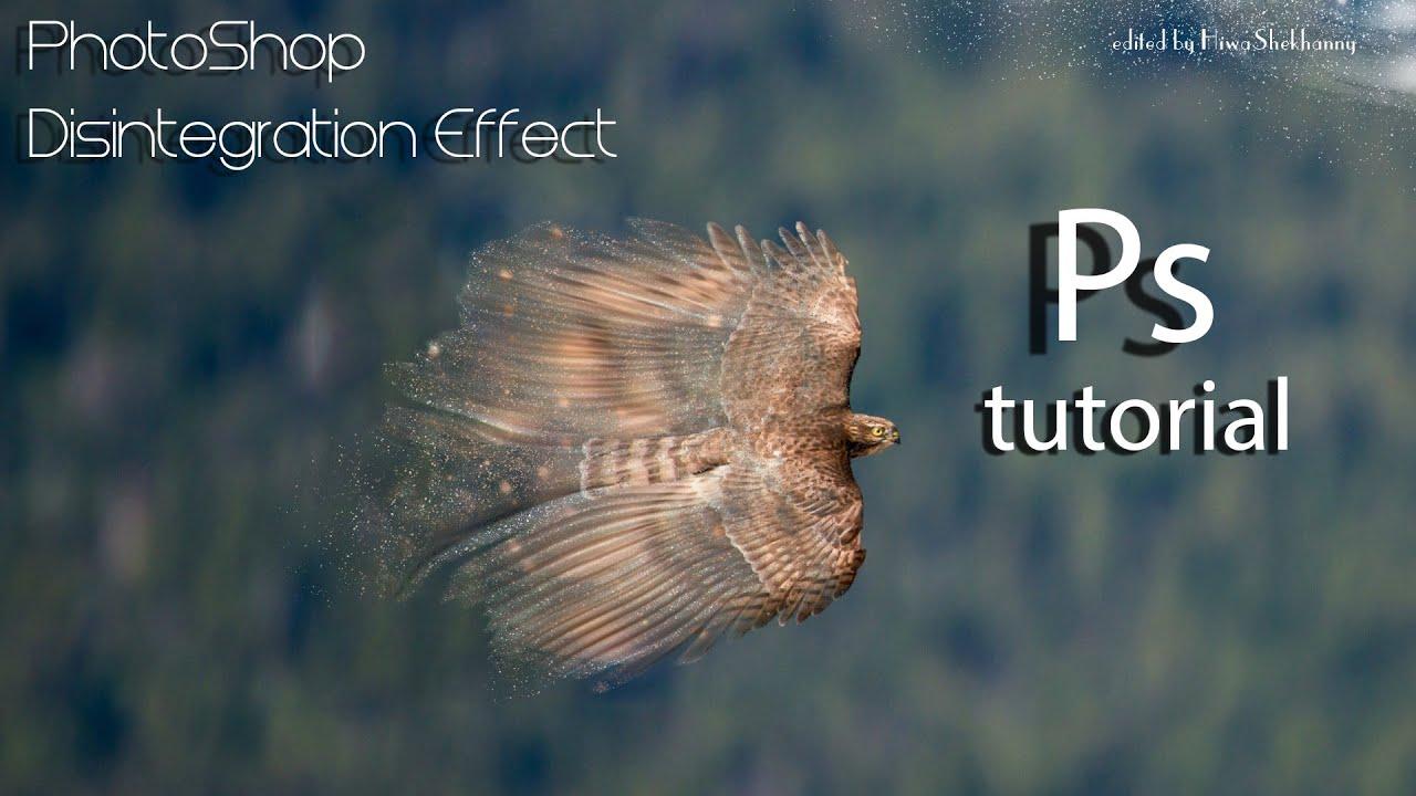 فۆتۆشۆپ | بهكارهێنانی ئیفێكتی شیكردنهوهی وێنه به شێوهیهكی سهرنجراكێش  Disintegration Effect