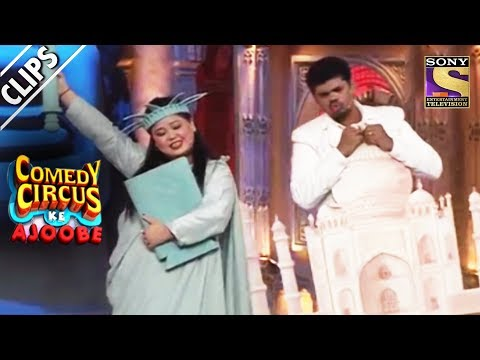 Bharti And Siddharth, Two Wonders Of The World | Comedy Circus Ke Ajoobe