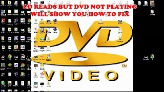 Video How to fix your dvd drive not playing but your cd drive plays MP3, 3GP, MP4, WEBM, AVI, FLV Juli 2018
