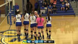 Play of the Game - Volleyball vs. LTU