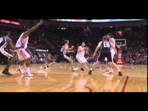 Jordan Hill - 17 points, 13 rebounds - 12/17/2011