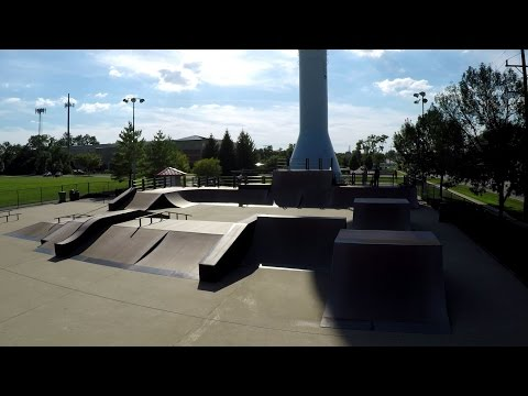 Westmont Illinois Skatepark Walk Through