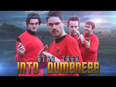 Parodie de Star Trek: Star Trek Into Dumbness.
