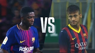 Download Video Ousmane Dembele vs Neymar Jr - Who Did The Best Barca Debut? MP3 3GP MP4